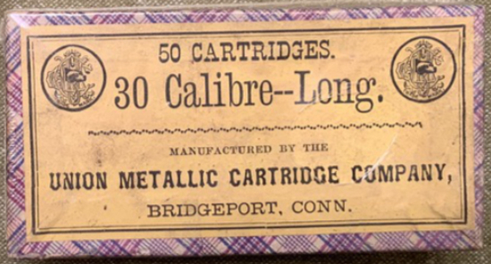 UNION METALLIC CARTRIDGE CO. - 30 CALIBRE-LONG