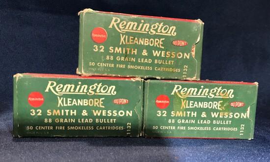 REMINGTON KLEANBORE .32 SMITH & WESSON