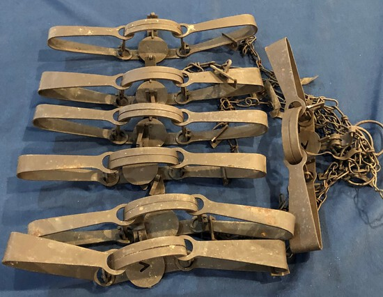 LOT OF (7) TRAPS
