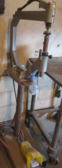 CUSTOM BUILT AIR POWERED METAL SHAPER FOR BODY SHOP