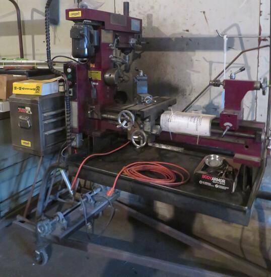 3-IN-1 MULTI-PURPOSE MACHINE - METAL LATHE, DRILL PRESS