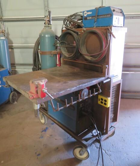 MILLER MATIC 150 AC/DC WELDER & MILLER MAVSTAR 91