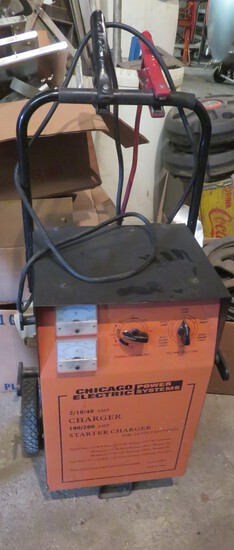 CHICAGO ELECTRIC  - CHARGER - STARTER CHARGER