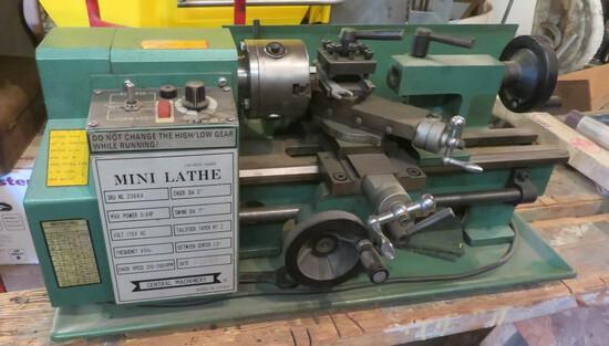 CENTRAL MACHINERY MINI LATHE