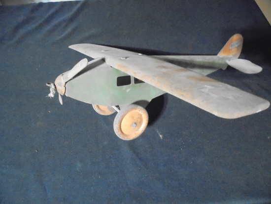 1920'S OR 30'S STEELCRAFT TOY AIRPLANE-ALL ORIGINAL