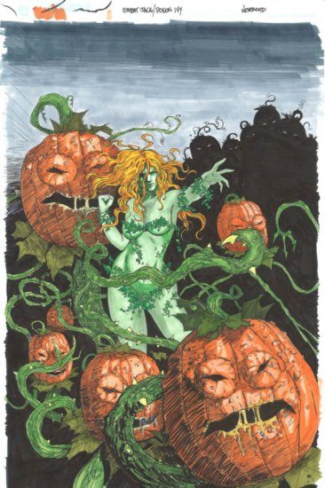 Poison Ivy Commision by Dave Newbold