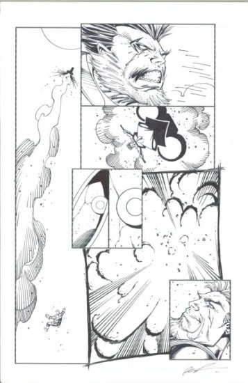 Deathstroke  #12 Page 18 by Rob Liefield