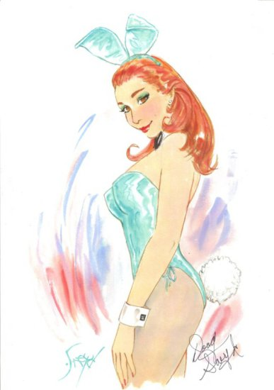 Playboy Print by Doug Sneyed