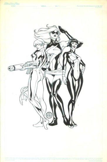 Avengers Commission by Drew Jonson