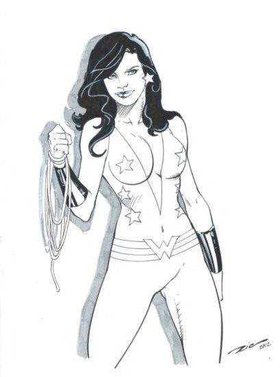 Wonder Girl by Ric