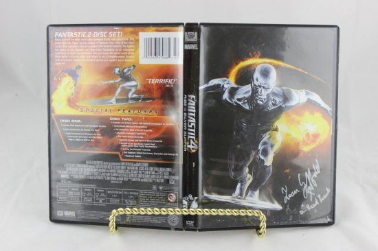 Signed Fantastic Four -DVD Rise Of The Silver Surfer
