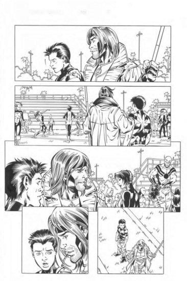 Tom Grummett Comic Book Page