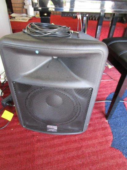 Two Peavey PR12D Speakers