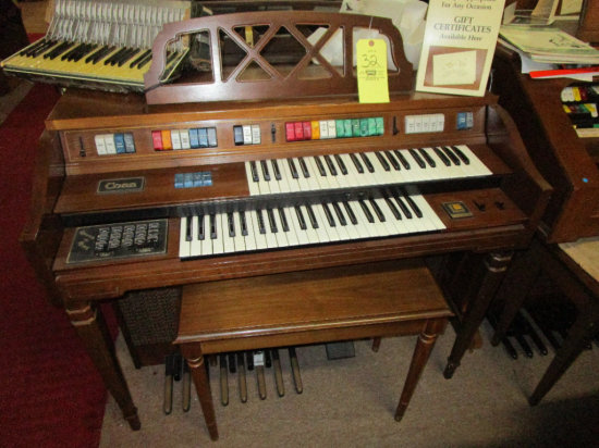 CONN Electric Organ with bench