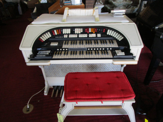 CONN EXP Electronic Organ with bench