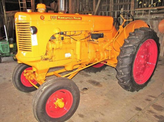 "Minneapolis Moline ""U"" Gas Tractor"