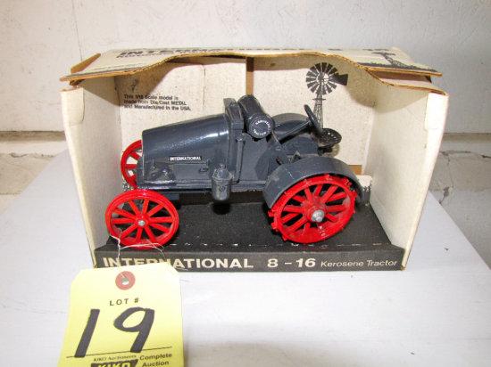 Ertl Scale Model International 8-16 Kerosene Tractor