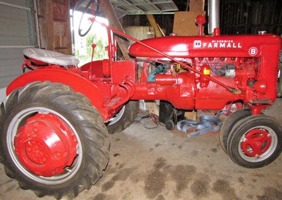 "Farmall Model ""B"" Tractor"