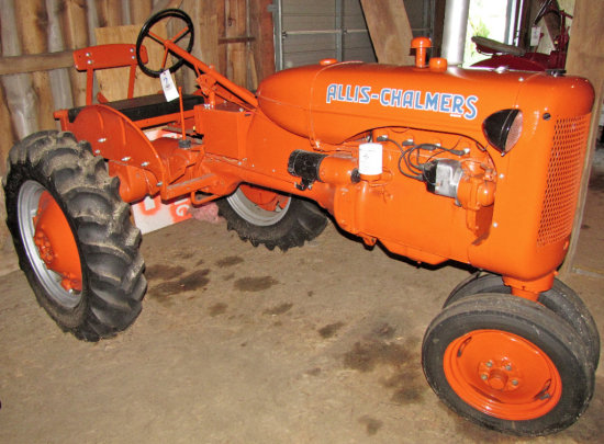 """Allis Chalmers """"C"""" Tractor"""