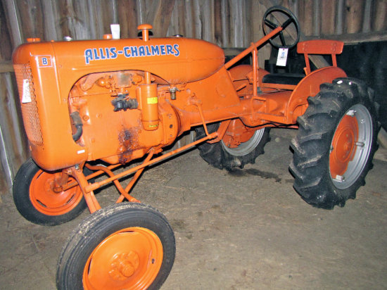 """Allis Chalmers """"B"""" Tractor"""