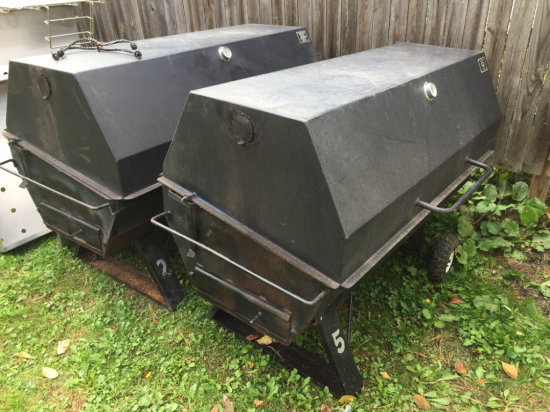 "60"" Charcoal cooker"