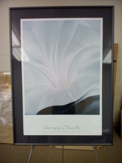 Georgia O'Keeffe print