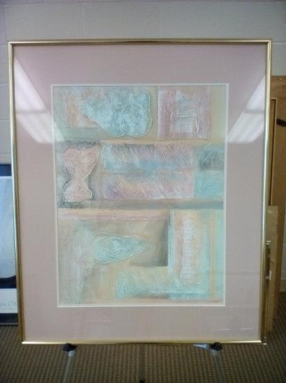 Rectangular abstract I