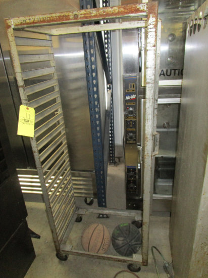 Steel Bakery Rack