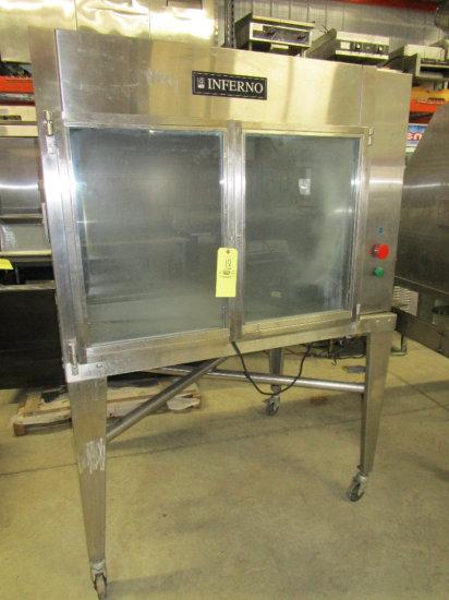 2004' Inferno Gas Chicken Rotisserie Oven