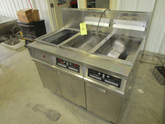 Frymaster Gas Double Fryer with Dumpstation