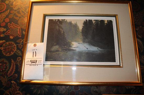 Emert Robertson 321/500 Framed Art