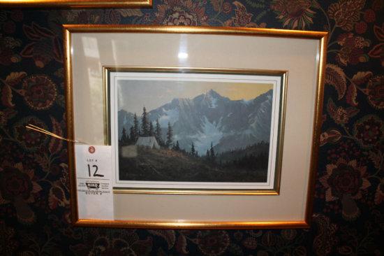 Emert Robertrson 321/500 Framed Art