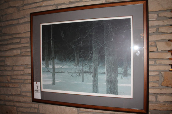 Robert Bateman 826/950 Framed Art