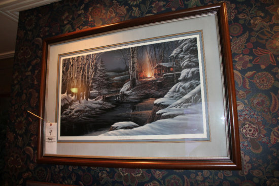 """Terry Redlin """"Sharing The Solitude"""" Print"""