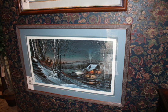 """Terry Redlin """"Evening With Friends"""" Print"""