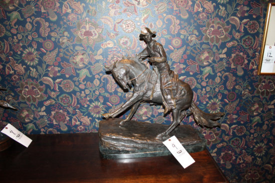 Fredrick Remington Statue 1908 26/100