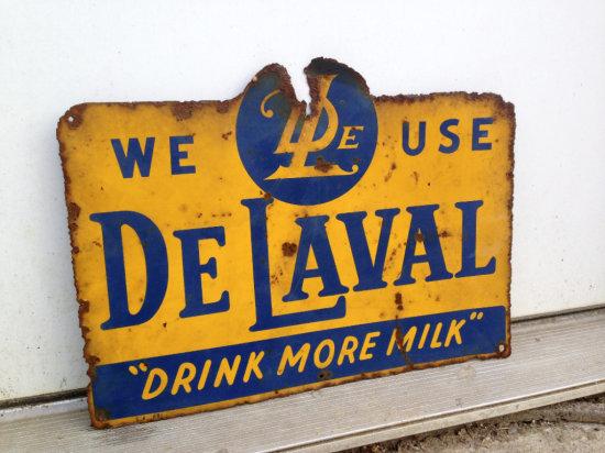 "De Laval Advertising Sign 16"" Wide"