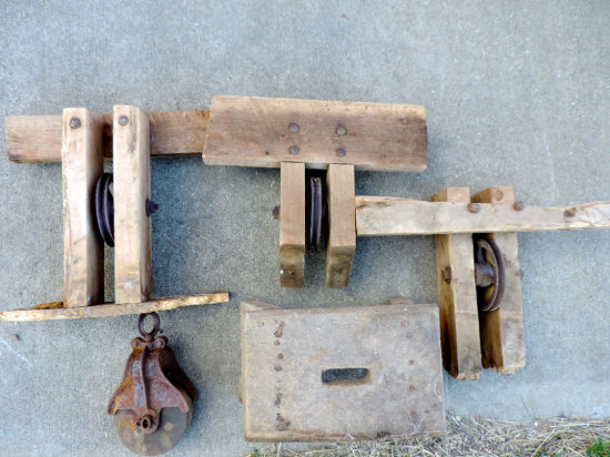 Pulleys and Stool