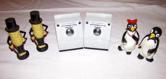 Mr. Peanut, Enterprise Wash Machines and Penguin Salt & Pepper Shakers