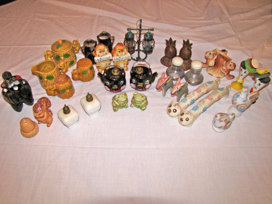 Assorted Salt & Pepper Shakers