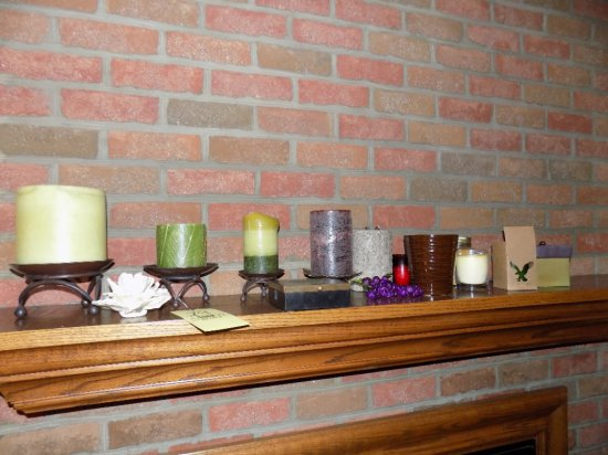 Candles, holders and decor