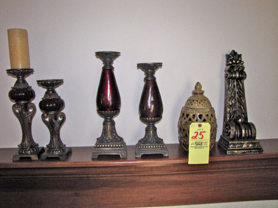 Candle stands & decor