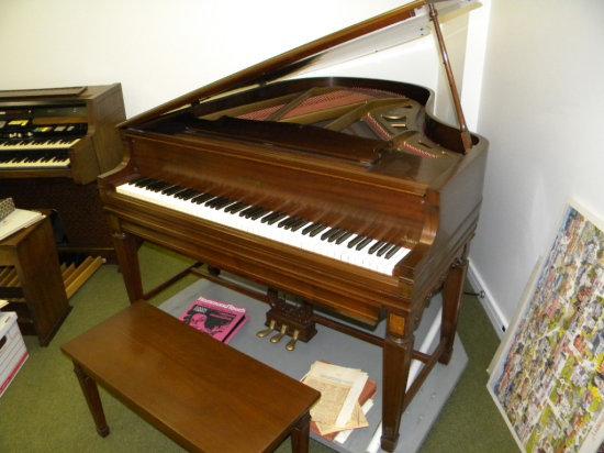 Chickering & Son the Ampico Baby Grand player piano