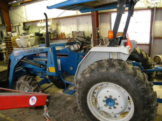 1990 Ford 2120 4x4 tractor