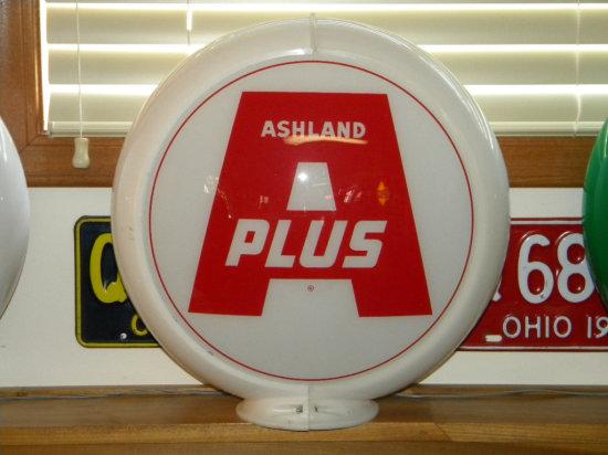 Ashland A Plus Lens Glass Pump Globe