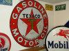 "Texaco Gasoline Motor Oil, 41.75"" Round Sign"
