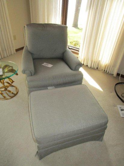 Pearson Arm Chair with Ottoman