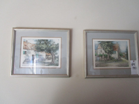 2 Framed Prints, Signed in Pencil