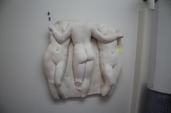 "3D Nude Wall Art 16"" Tall"