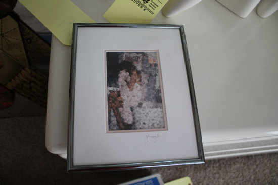 Framed and Matted Art Work